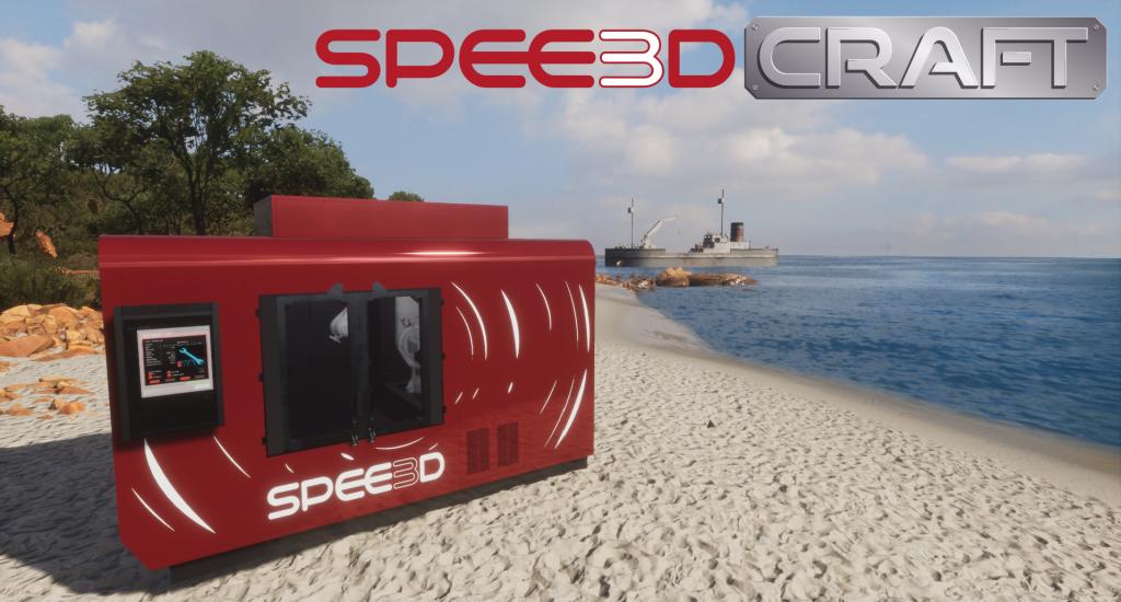 SPEE3DCraft Homescreen